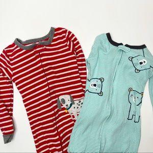Carter's Cotton Footed Pajama Set